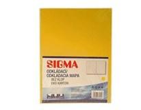 Dosky mapa 250 žlté SIGMA 10ks