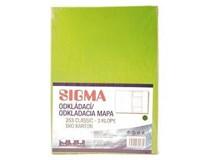 Dosky mapa 253 zelené SIGMA 10ks