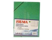 Dosky mapa 253 prešpán zelené SIGMA 5ks
