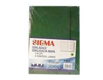 Dosky mapa 253 pp zelené SIGMA 5ks