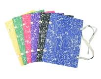Dosky spisové s tkanicou mix SIGMA 10ks