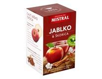 Mistral Jablko a škorica ovocný čaj 3x40 g