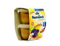 Hamé Hamánek Detská výživa slivka 2x130 g