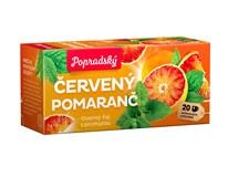 BOP Červený pomaranč a mäta ovocný čaj 3x40 g