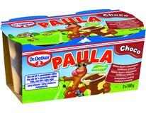Dr. Oetker Paula čokoládový dezert s vanilkou chlad. 2x100 g