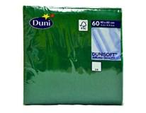 Servítky papierové Dunisoft zelené 40cm Duni 60ks