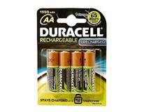 Batérie nabíjateľné 2500 AA Duracell 4ks
