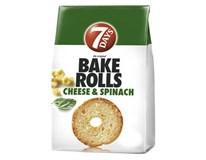 7 Days Bake Rolls syr a špenát 1x80 g