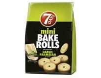 7 Days Bake Rolls mini cesnak, parmezán, bylinky 1x80 g