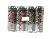 AC/DC  pivo 5% 4x568 ml PLECH