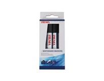 Popisovač na tabuľu čierny SIGMA 4ks