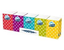 Harmony papierové vreckovky dots 3-vrstvové 10x10 ks