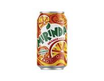 Mirinda orange limonáda 24x330 ml PLECH