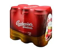 Budvar pivo 12% 4x6x500 ml PLECH
