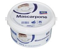 ARO Mascarpone 82% chlad. 1x2 kg