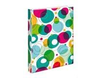 Blok poznámkový A4 4-krúžkový karis bubble pvc 1ks