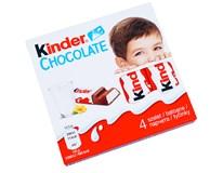 Kinder Chocolate T4 tyčinka z mliečnej čokolády 20x50 g