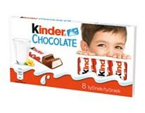 Kinder Chocolate T8 tyčinka z mliečnej čokolády 10x100 g