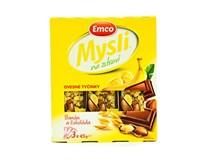 Emco Mysli Ovsená tyčinka banán a čokoláda 3x45 g