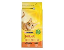 Friskies adult dry cat granule kura 1x1,7 kg