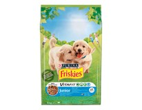 Friskies junior dry dog granule kura 1x8 kg