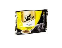 Sheba kapsičky Delicacy in Jelly hydinový výber pre mačky 4x85 g