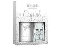 Crystal Kazeta EDP+deodorant dám. 1x1 ks