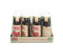 Fruxi fresh 100% šťava jablko a malina 12x250 ml SKLO