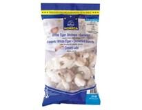 Horeca Select Krevety surové lúpané s chvostom 30/40 mraz. 1x800 g/1 kg s glaz.