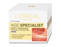 L'Oréal Age Specialist denný krém proti vráskam 45+ 1x50 ml