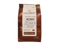 Callebaut mliečna čokoláda polevová 33,6% 1x2,5 kg
