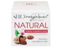 Bio natural mandľový krém 1x51 ml