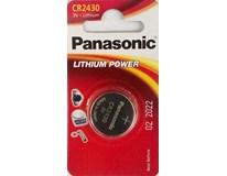 Batérie lithium power CR2430 Panasonic 1ks