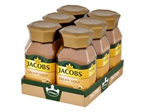 Jacobs Crema gold káva instantná 6x100 g