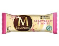 Algida Magnum Strawberry white/jahoda biela čokol. nanuk  mraz. 20x100 ml
