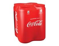 Coca Cola 4x330 ml PLECH