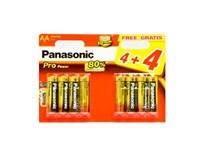 Batérie ProPower LR6PPG AA  Panasonic 4+4ks