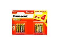 Batérie ProPower LR03PPG AAA Panasonic 4+4 ks
