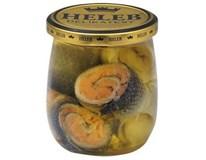 Heleb Zavináčiky s pravým lososom chlad. 1x250 g