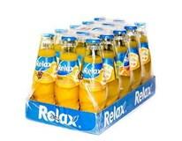 Relax nektár pomaranč 15x200 ml SKLO
