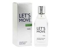 Benetton Let`s move EDT pánsky 1x40 ml