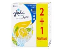 Glade by brise one touch citrón náhradná náplň 2+1 ks