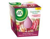 Air wick essential oils sviečka horské kvety 1x150 g