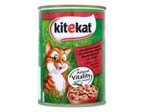 Kitekat hovädzie mäso wet cat 1x400 g