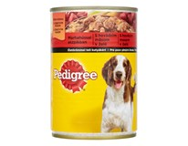 Pedigree hovädzie + želé pre psa 1x400 g