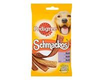 Pedigree schmackos 4 druhy pre psa 1x104 g