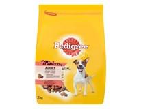 Pedigree small s hovädzím mäsom a zeleninou granule pre psa 1x2 kg