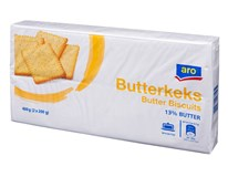 ARO Butterkeks maslové sušienky 1x400 g