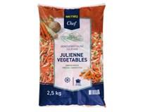 Metro Chef Julienne zeleninová zmes mraz. 1x2,5 kg