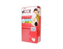Rukavice latexové púdrované veľkosť M viGO Quickpack 100ks